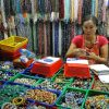 Gemstones and jewellery is sold in bulk in Chinatown