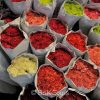 Bangkok's biggest flower market has both local and imported flowers