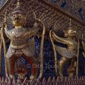 Traditional Thai architecture at Wat Phra Kaew