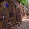 Hellfire Pass was built by allied soldiers during World War II