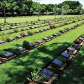 Donrak War Cemetery was built for the allied soldiers in World War II